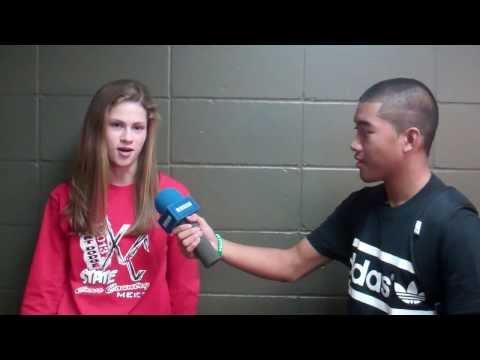 Girls Cross Country Champion Tess Roorda
