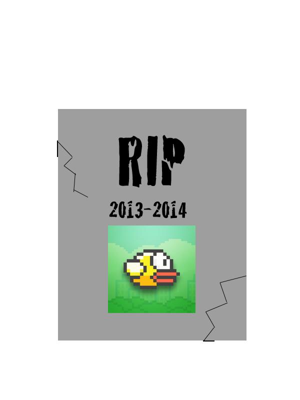Flappy Bird tombstone