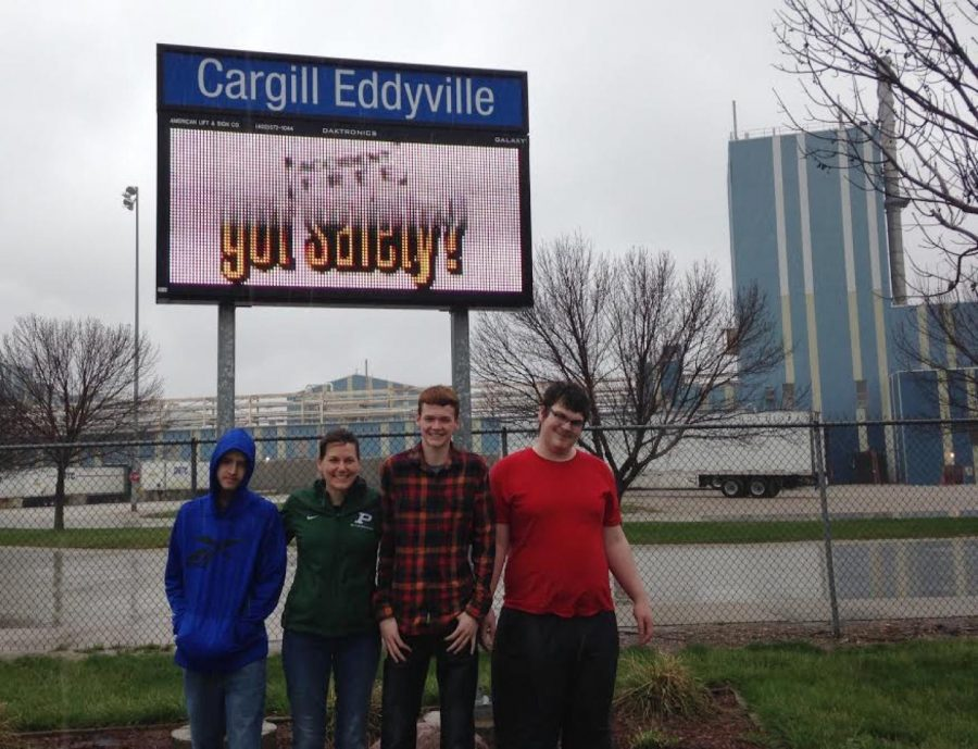 Junior Thomas Gualey and Classmates Take Trip to Cargill