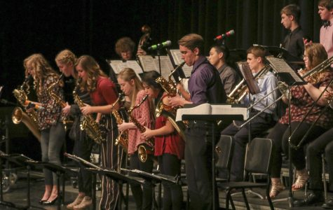 Pella Students take on All-State Jazz Band