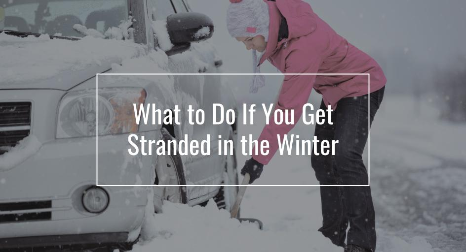 What to do if you're stranded on the highway during a winter storm