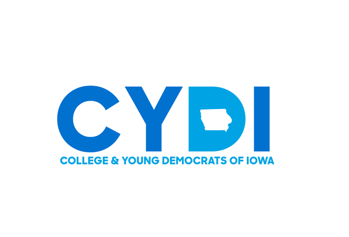 Reporter+Zoe+Card+talks+one+on+one+with+the+President+of+College+and+Young+Democrats+of+Iowa