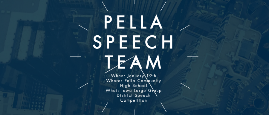 Pella+Speech+Team+to+host+2019+district+large+group+competition