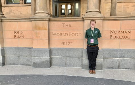 Podcast with Joseph Beukelman About World Food Prize Global Youth Institute.