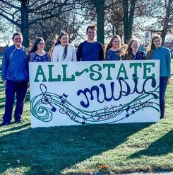 7 musicians from Pella High made All-State.