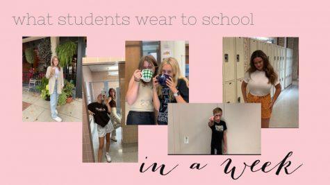 What Students Wear to School in a Week